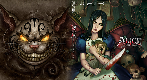 Alice: Madness Returns (4 custom covers)