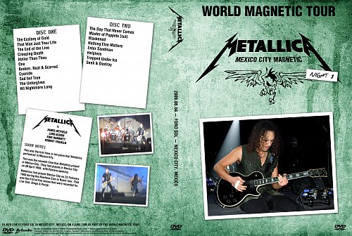Metallica - World Magnetic Tour. Mexico City Magnetic (2009)