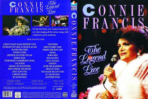 Connie Francis - The Legend Live 1990 (2003)