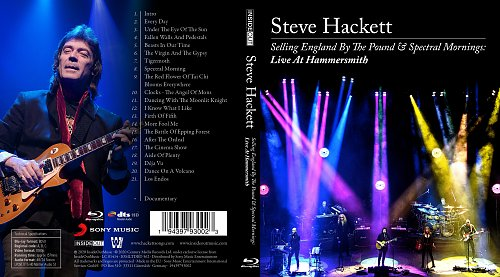 Steve Hackett - Selling England by the Pound & Spectral Mornings (Live at Hammersmith) (2020)